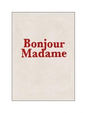 Kartka okolicznościowa Bonjour Madame HOTEL MAGIQUE