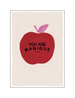 Kartka okolicznościowa Apple HOTEL MAGIQUE