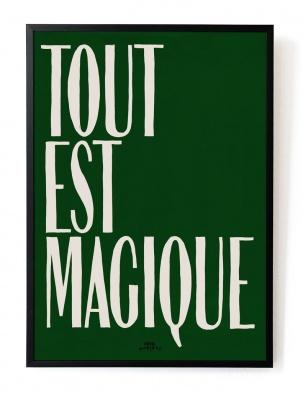Plakat Tout est Magique A3 HOTEL MAGIQUE