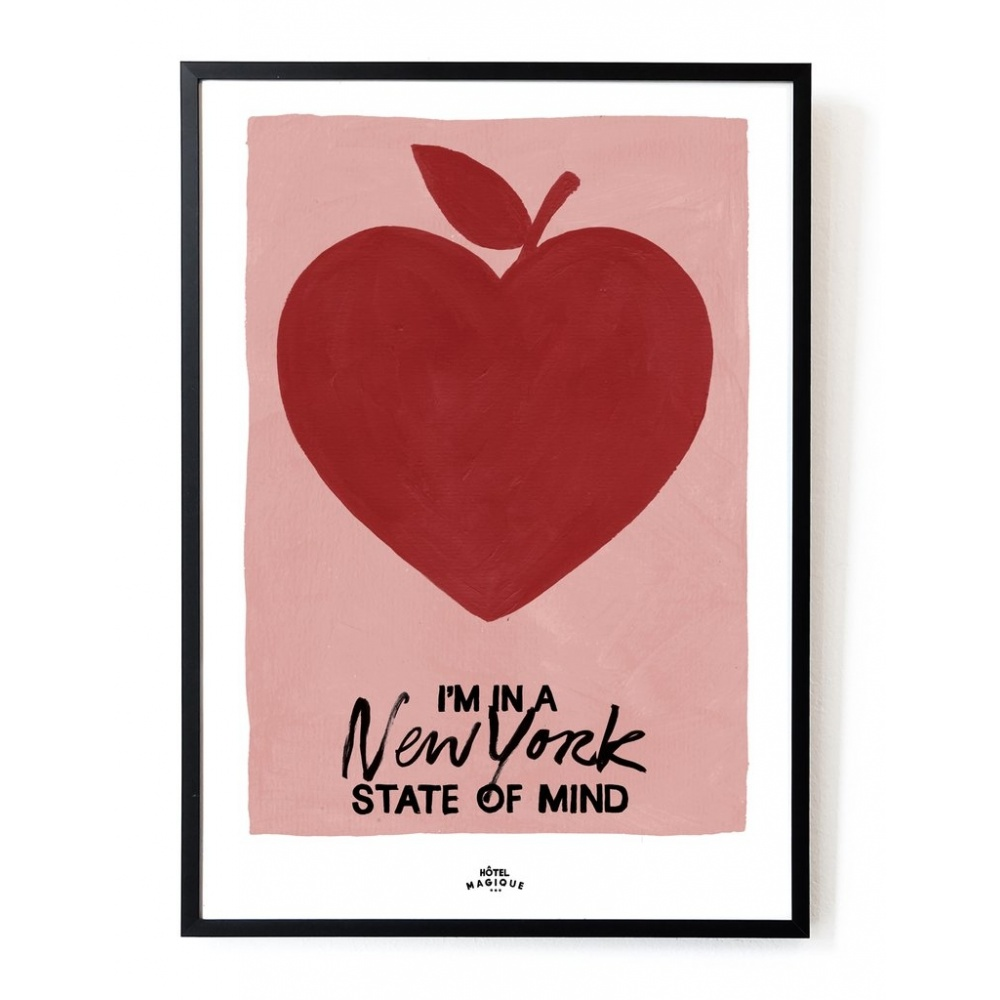 Plakat NY State of mind A3 HOTEL MAGIQUE