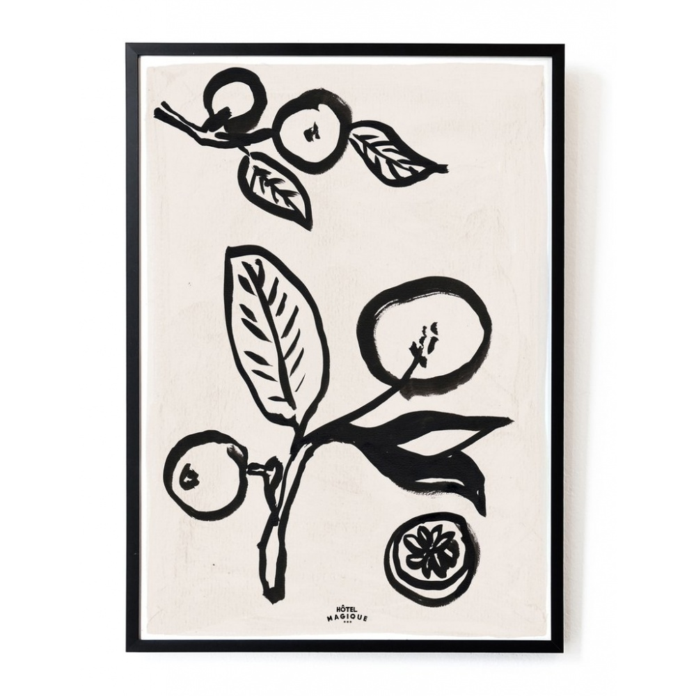 Plakat When life gives you lemons art A3 HOTEL MAGIQUE