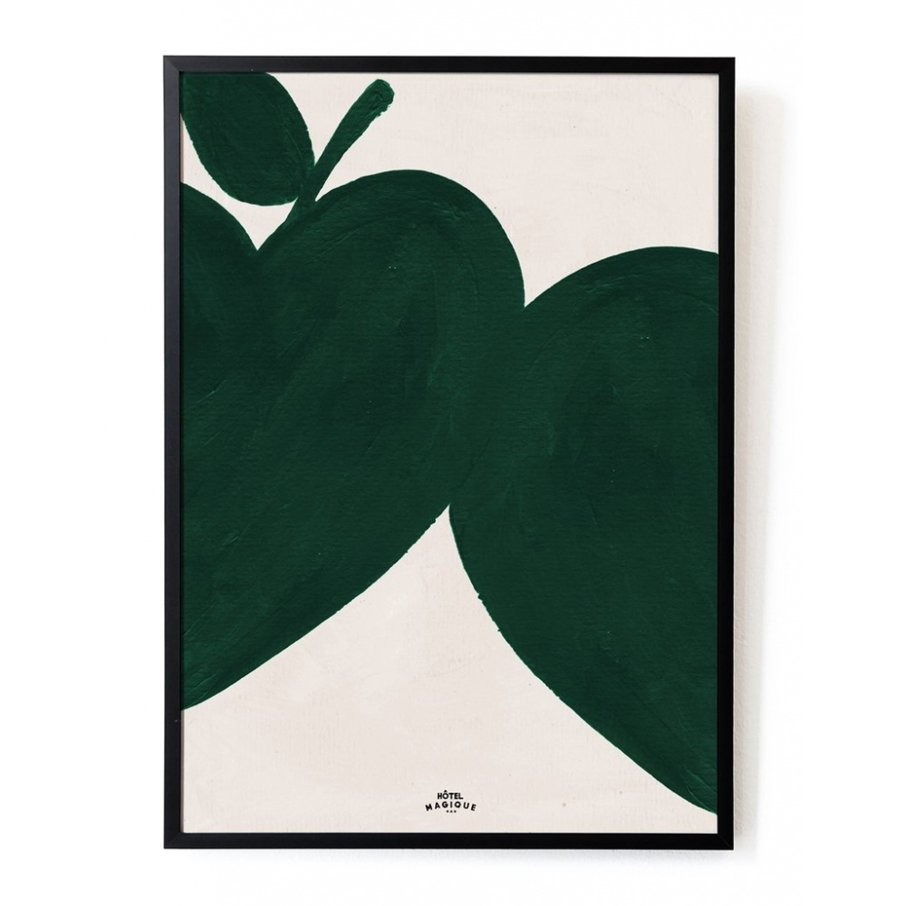 Plakat I like my apples green A3 HOTEL MAGIQUE