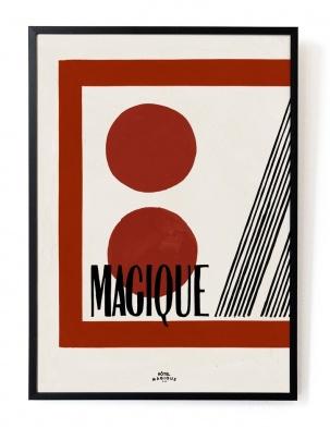 Plakat Casette A3 HOTEL MAGIQUE
