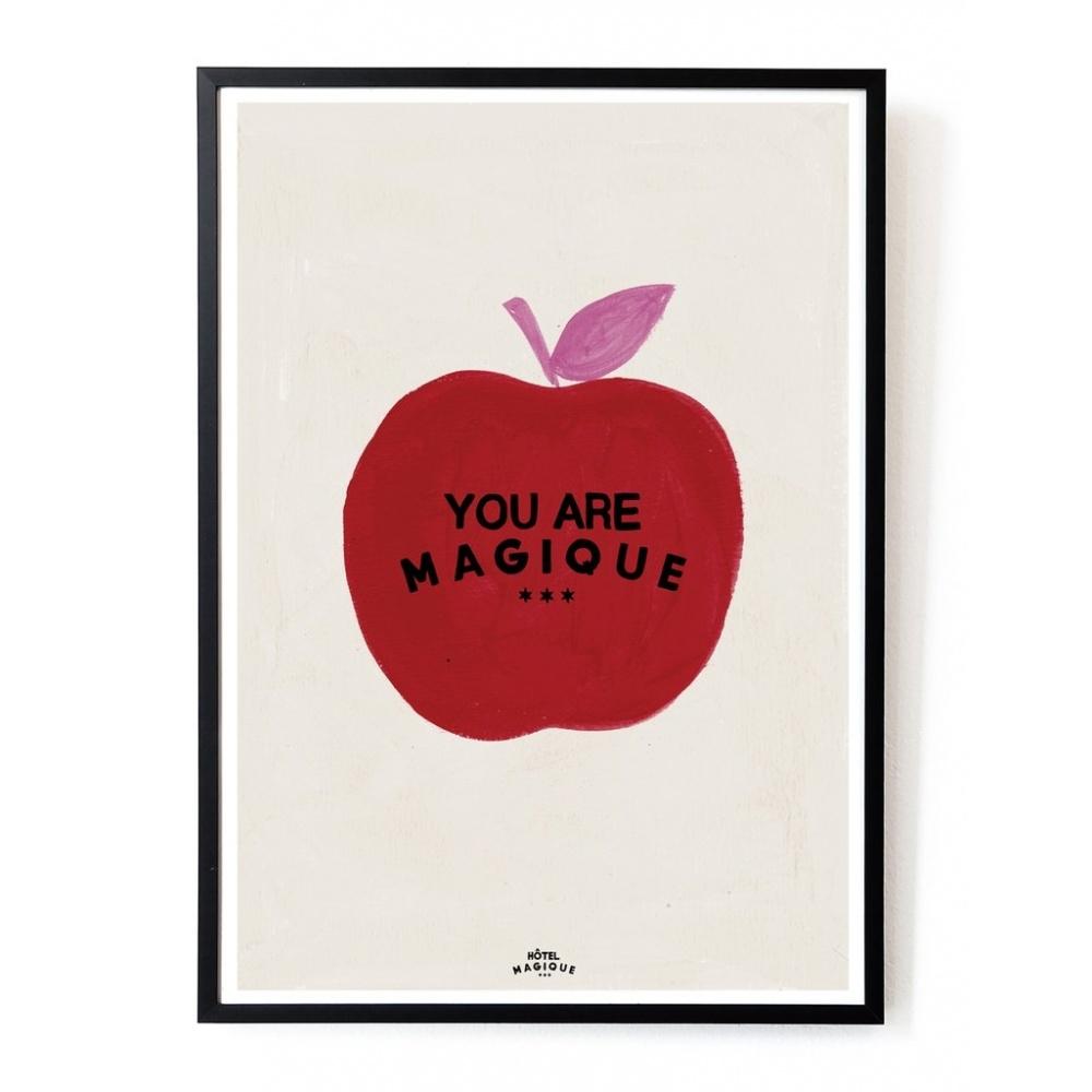 Plakat Apple A3 HOTEL MAGIQUE