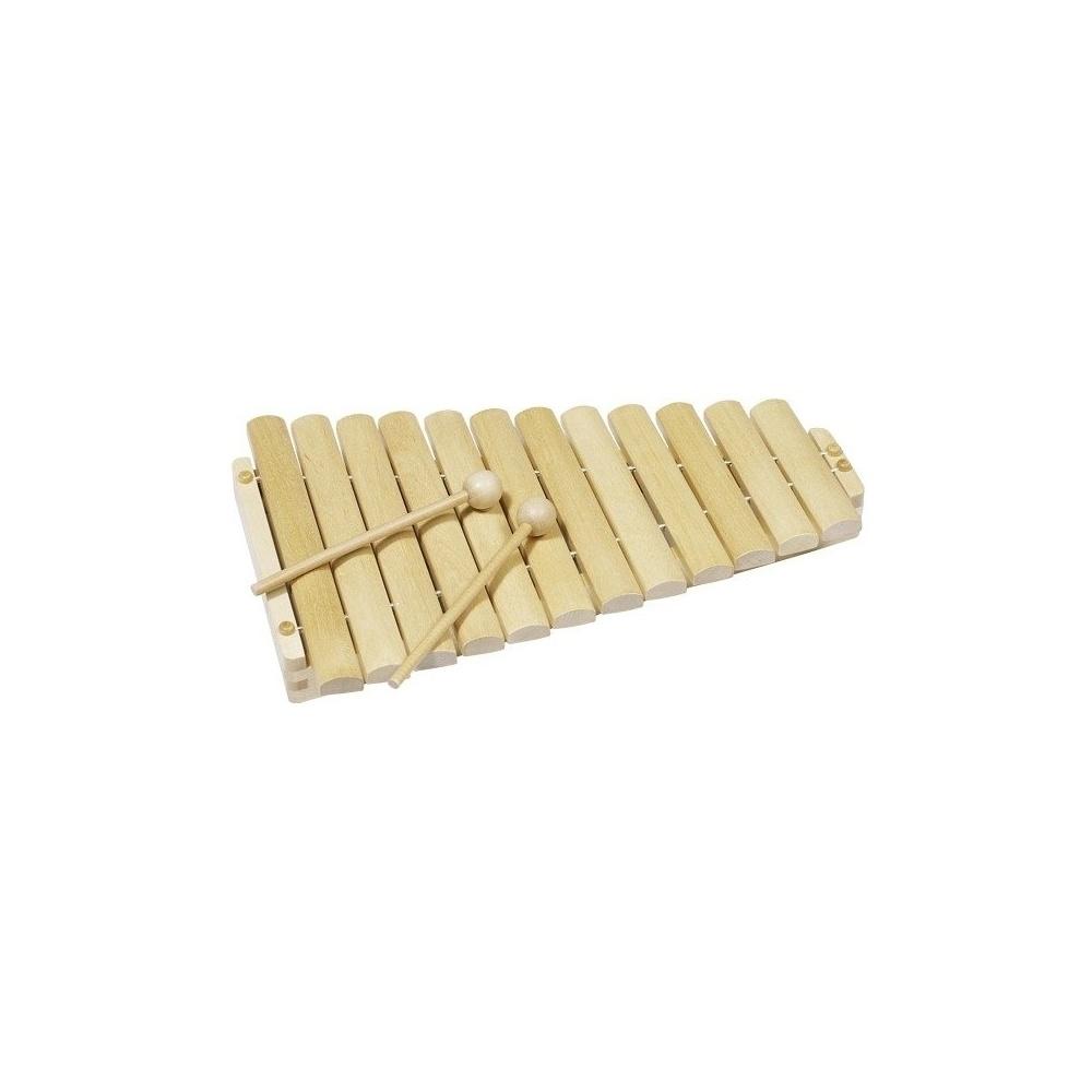 Ksylofon, 12 tonów, natural Goki