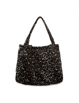 TORBA DLA MAM Brown jaguar mom-bag STUDIO NOOS