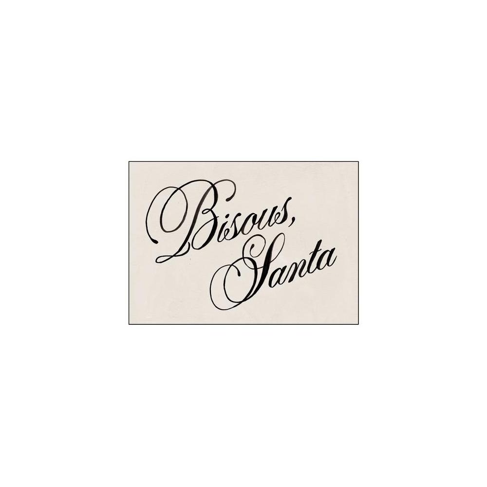 Kartka okolicznościowa Bisous, Santa HOTEL MAGIQUE