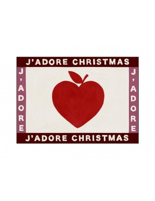 Kartka okolicznościowa J'adore Christmas heart HOTEL MAGIQUE