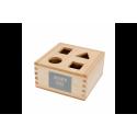 Shape Sorter Box Naturalny WOODEN STORY