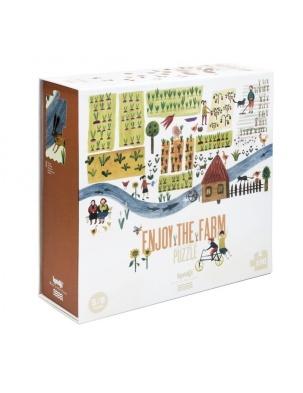 Puzzle dla dzieci Przyjemny czas na Farmie! Londji®