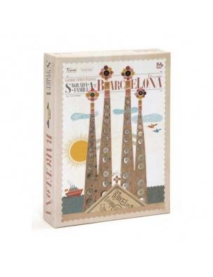 Puzzle 54 el. miasta świata: Barcelona Londji®