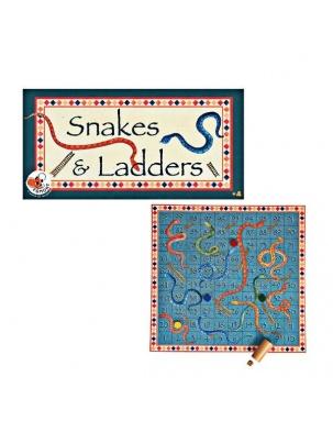 Planszowa gra rodzinna Węże i drabinki Egmont Toys®