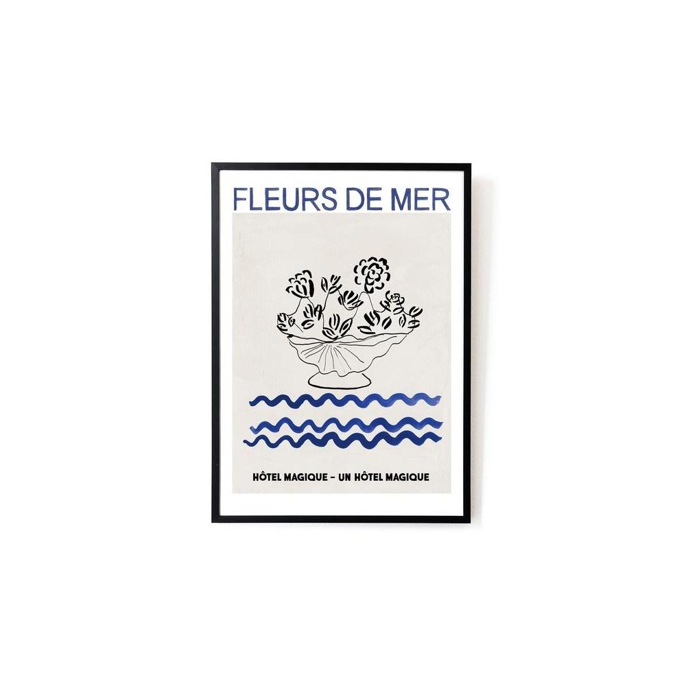 Plakat Fleurs de Mer art print A3 HOTEL MAGIQUE