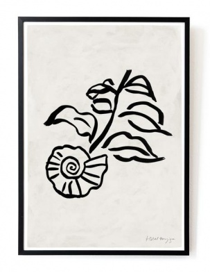 Plakat When a shell was a flower art print A3 HOTEL MAGIQUE