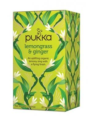 Lemongrass & Ginger 20 saszetek Pukka