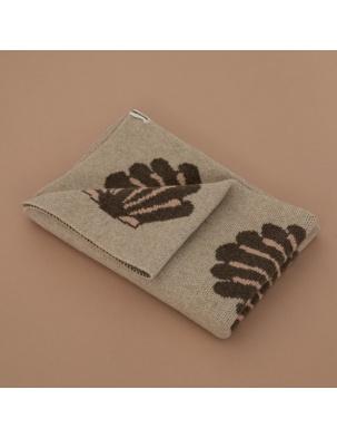 Wełniany koc z edycji limitowanej Igor Wool Blanket - Beach Shells JORDLING