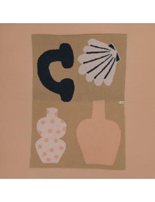 Wełniany koc z edycji limitowanej Igor Wool Blanket - Shapes JORDLING