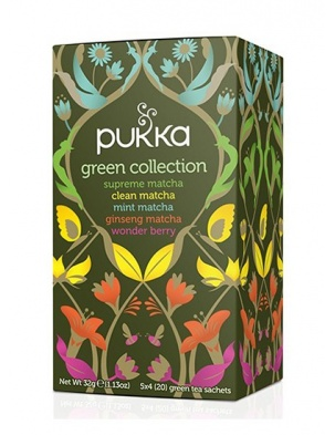 Herbata Pukka Green Collection 20 saszetek Pukka