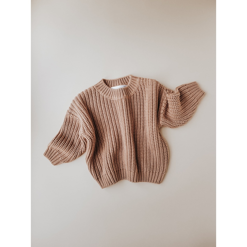 Chunky Sweater Toffee KIDS of APRIL