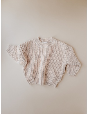 Chunky Sweater Almond KIDS of APRIL