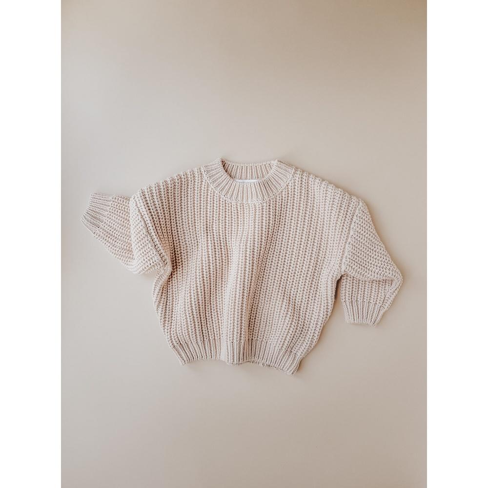 Chunky Sweater Almond KIDS of APRIL