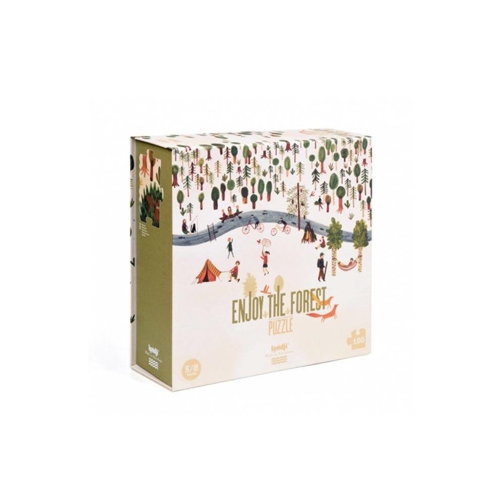 Puzzle dla dzieci Przyjemny czas w lesie! Londji®