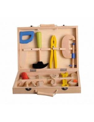 Zestaw drewnianych narzędzi w skrzynce Egmont Toys®