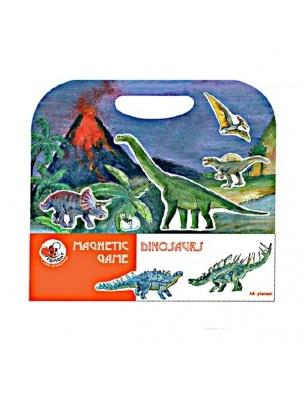 Układanka, gra magnetyczna, Dinozaury Egmont Toys