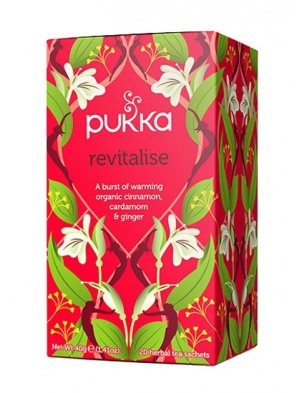 Herbata Revitalise 20 saszetek Pukka