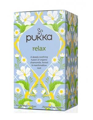 Herbata Relax 20 saszetek Pukka