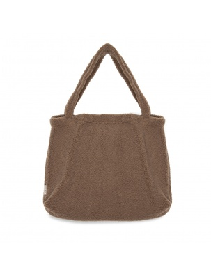 TORBA DLA MAM Brown Chunky teddy mom-bag STUDIO NOOS