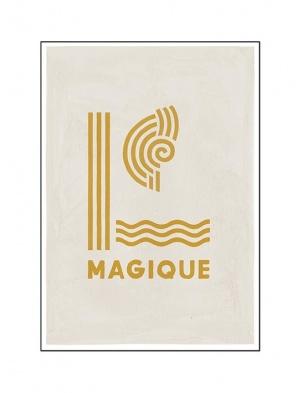 Kartka okolicznościowa YELLOW MAGIQUE HOTEL MAGIQUE