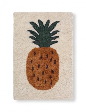 Dywan Fruiticana Tufted Pineapple Rug FERM LIVING