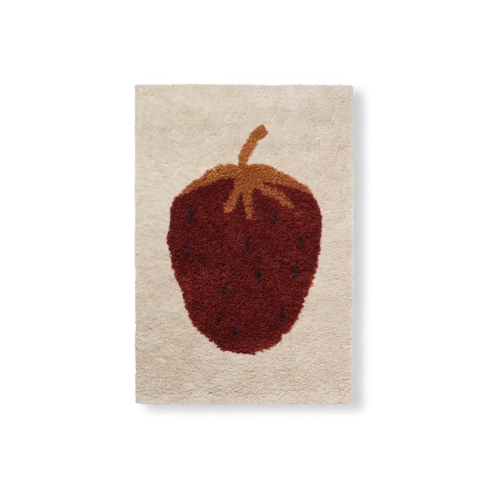 Dywan Fruiticana Tufted Strawberry Rug FERM LIVING