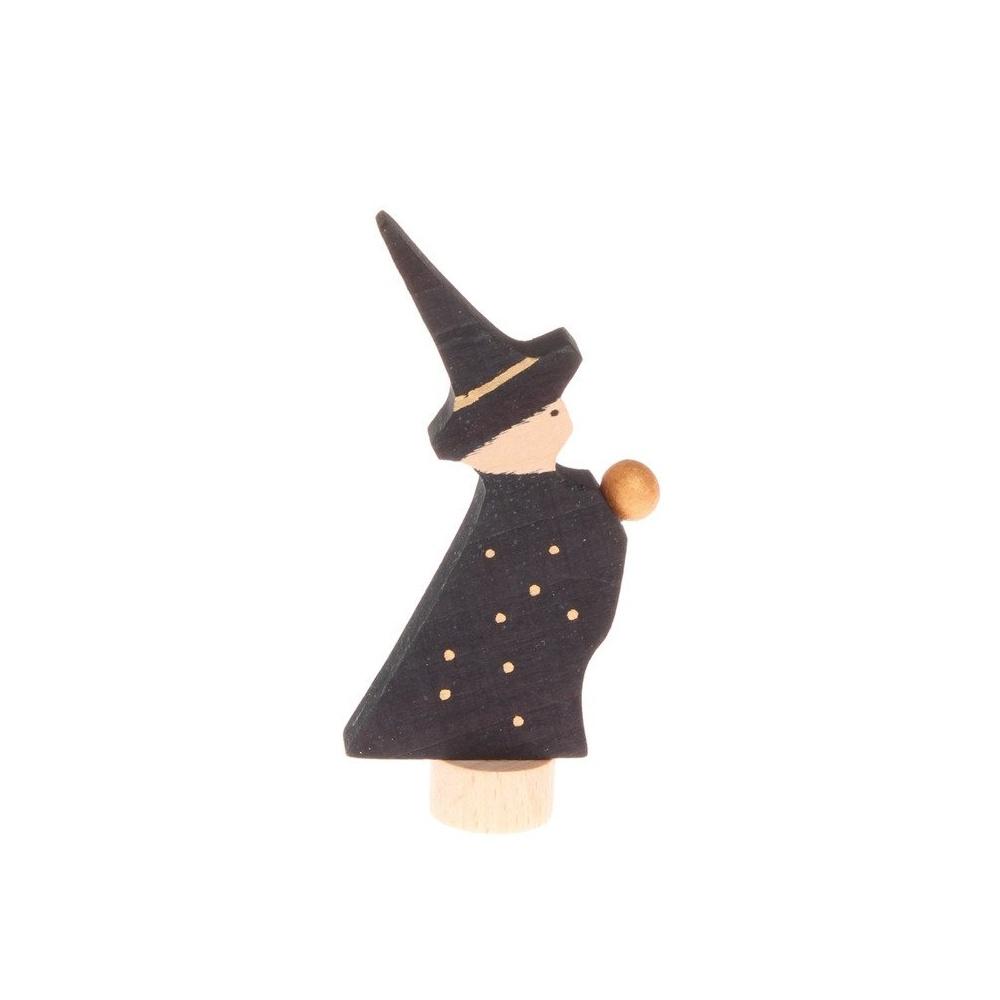 Drewniana figurka czarodziej Grimm's