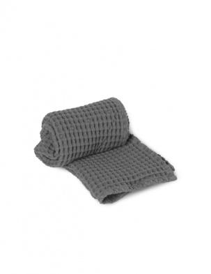 Wafelkowy ręcznik Organic Hand Towel Grey FERM LIVING
