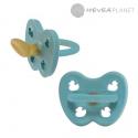 Anatomiczny smoczek kauczukowy Kaczuszki Twilight Blue HEVEA