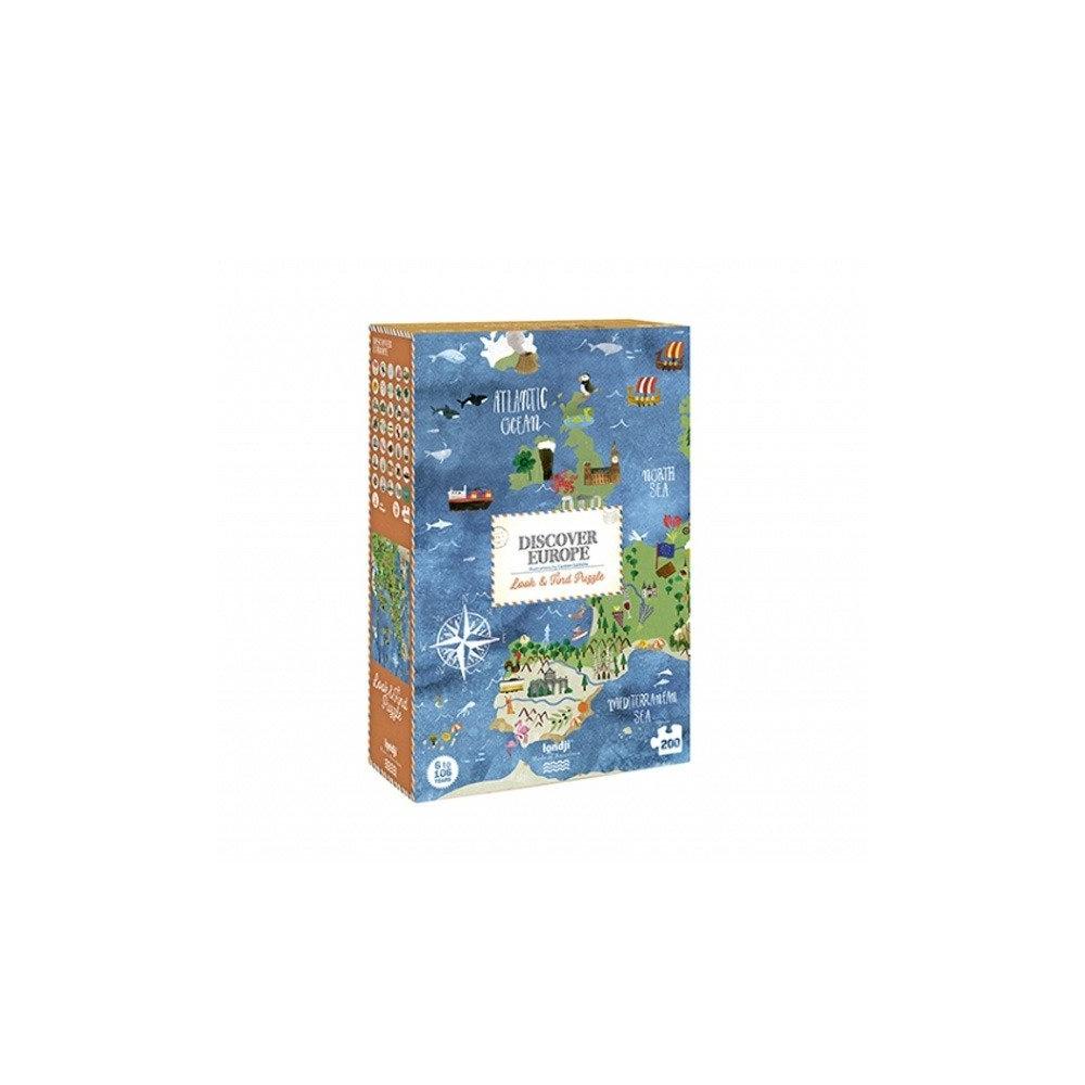 Puzzle dla dzieci Odkryj Europę Londji®