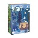 Dwustronne puzzle dla dzieci Dzień i Noc Londji®