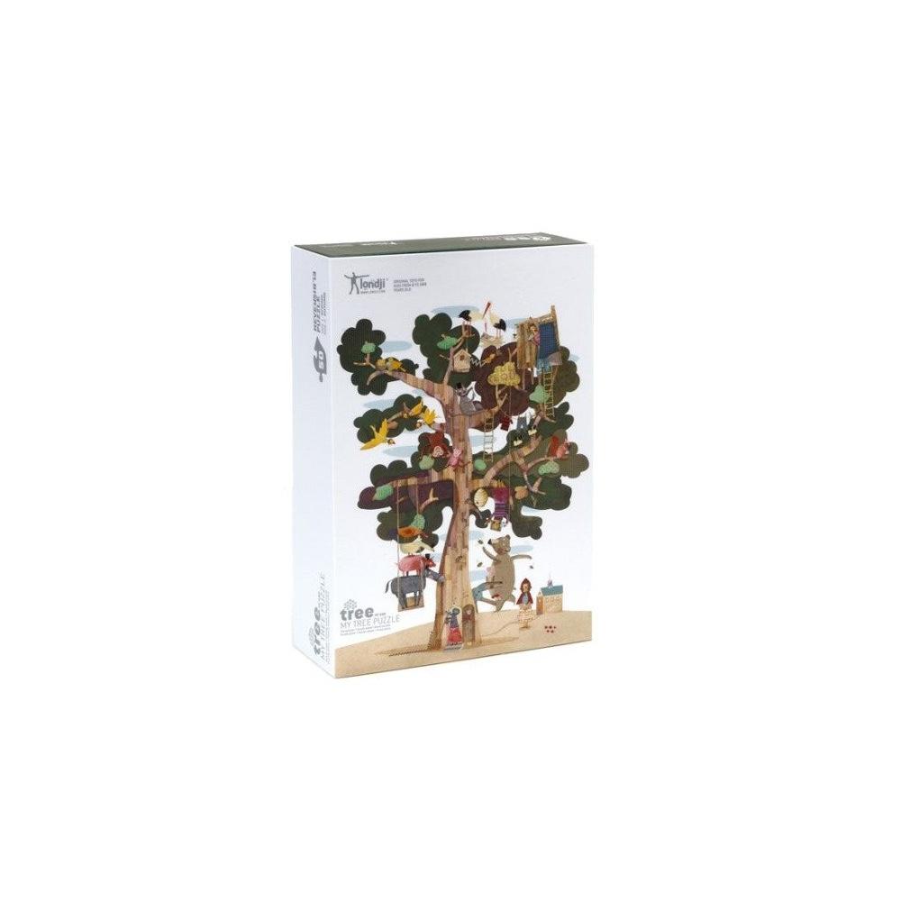 Dwustronne puzzle dla dzieci Moje Drzewo Londji®