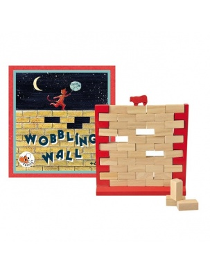 Drewniana gra zręcznościowa Chwiejny Mur Egmont Toys