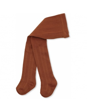 Rajstopy MISA TIGHTS POINTELLE CARAMEL KONGES SLOEJD
