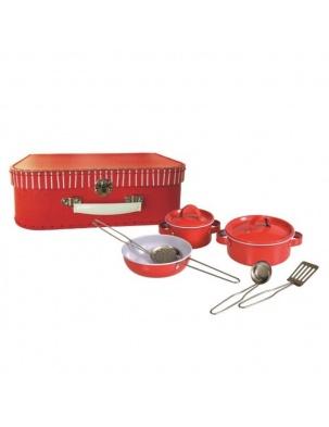 Mały kucharz, zestaw do gotowania komplet w walizce Egmont Toys