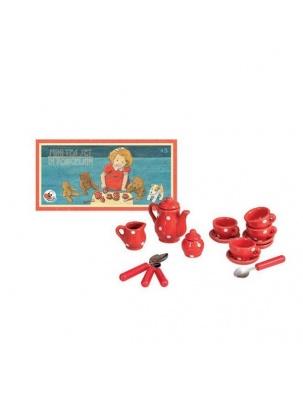 Mini zestaw porcelanowy herbaciany do zabawy Egmont Toys