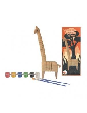 Drewniana żyrafa do pomalowania Egmont Toys