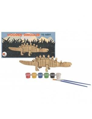 Drewniany dinozaur do pomalowania Egmont Toys