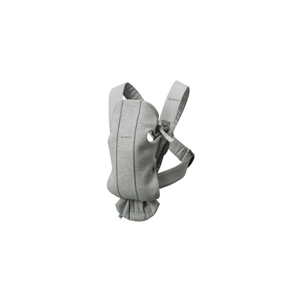 MINI 3D Jersey – nosidełko JASNY SZARY BABYBJORN