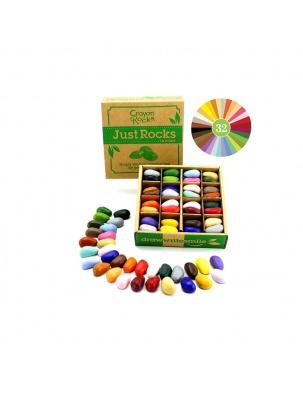 Kredki w pudełku 64 sztuki - 32 kolory Crayon Rocks