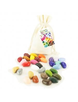 Kredki w bawełnianym woreczku - 32 kolory Crayon Rocks