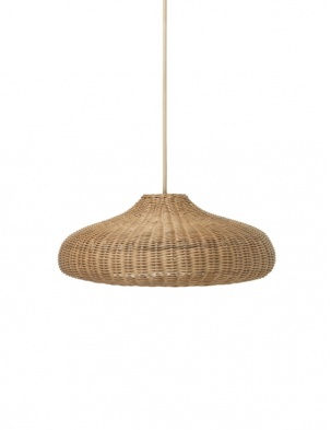 Rattanowa Lampa Braided Lampshade Shade FERM LIVING
